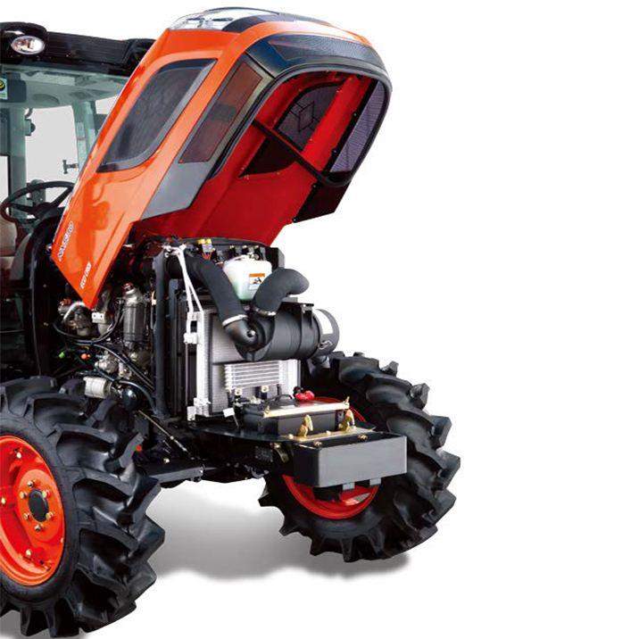 kioti traktor dk6010c eu neufahrzeug prochaska die. Black Bedroom Furniture Sets. Home Design Ideas